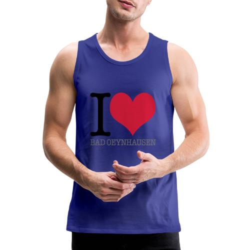 Love is in the Kurstadt - Männer Premium Tank Top