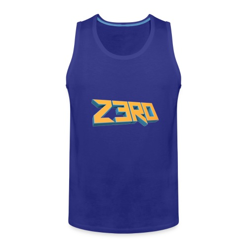 The Z3R0 Shirt - Men's Premium Tank Top
