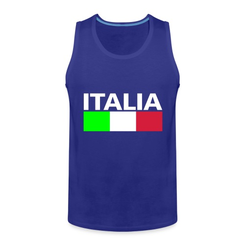 Italia Italy flag - Men's Premium Tank Top