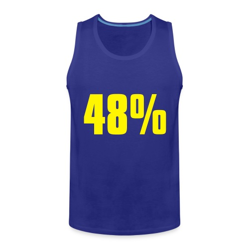 48% - Men's Premium Tank Top