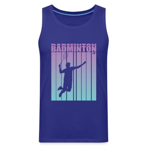 Badminton Jump Smash - Men's Premium Tank Top