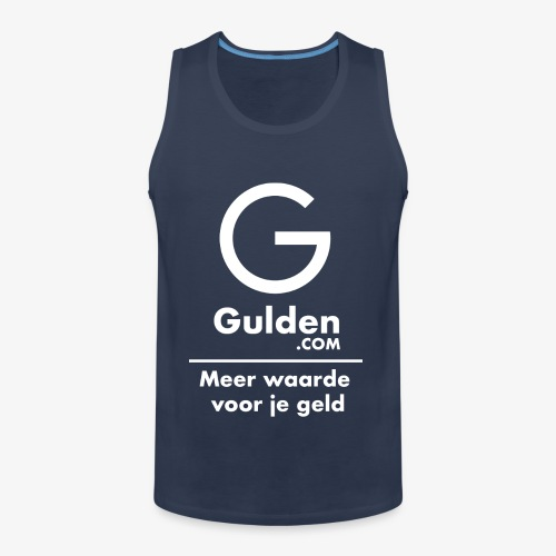 NLG - Gold Cryptocurrency - Early Adopter - Men's Premium Tank Top