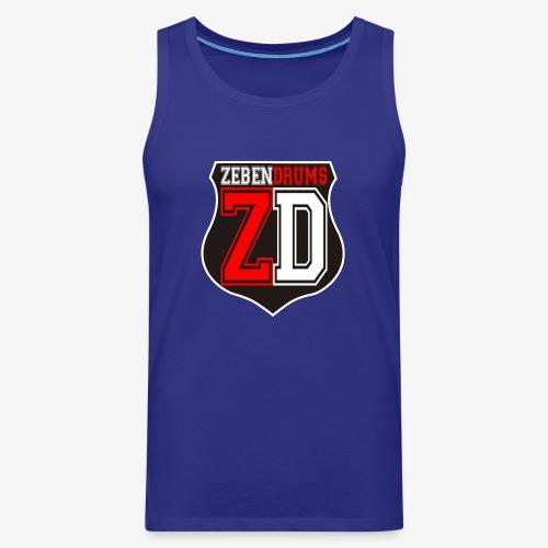 Logo Zebendrums - Tank top premium hombre