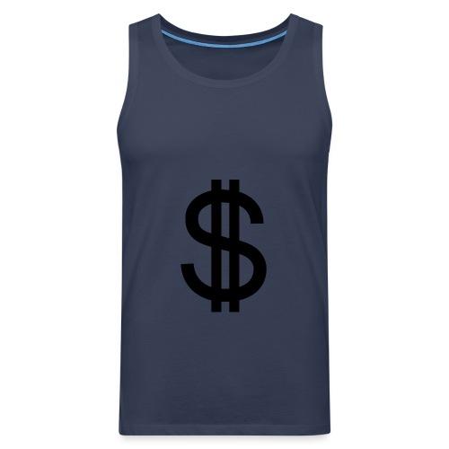Dollar - Tank top premium hombre