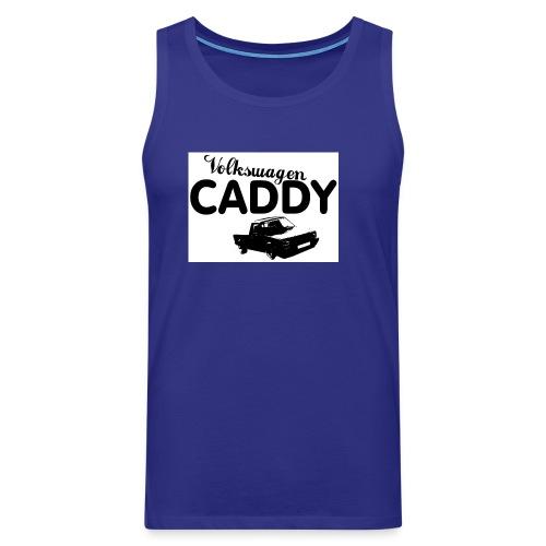 vw caddy car - Männer Premium Tank Top