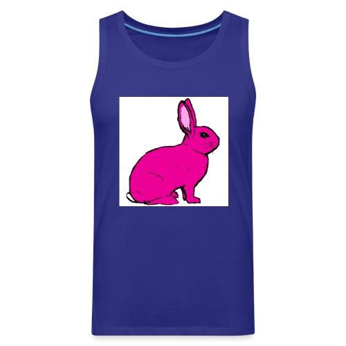 Pink Rabbit - Men's Premium Tank Top