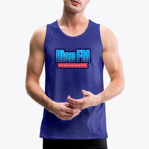 Rise FM Denmark Text Only Logo - Herre Premium tanktop
