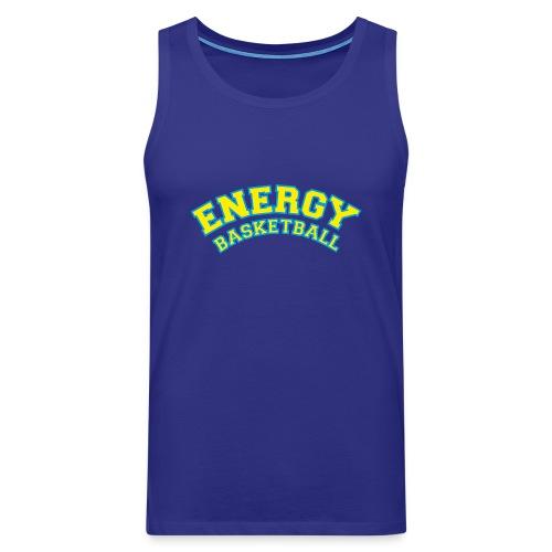 street wear logo giallo energy basketball - Canotta premium da uomo