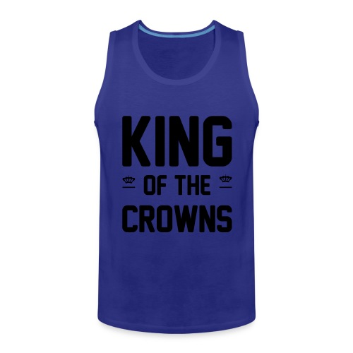 King of the crowns - Mannen Premium tank top