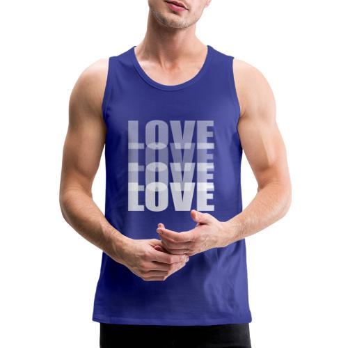 Love - Tank top premium hombre