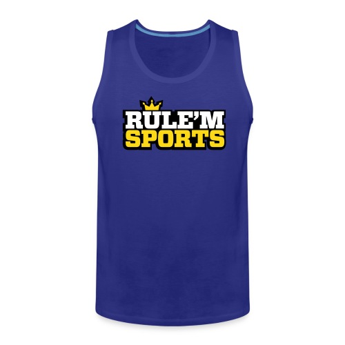 r vector - Men's Premium Tank Top