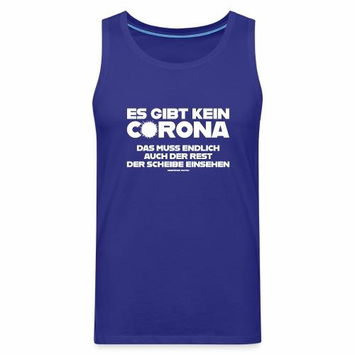 Kein Corona - Männer Premium Tank Top