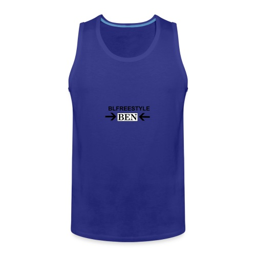 CREATED BY THE YOU TUBER CALLED BLFREESTYLE 11 - Men's Premium Tank Top