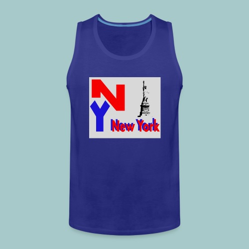 NY - Canotta premium da uomo