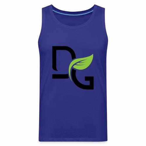 DrGreen Logo Symbol schwarz grün - Männer Premium Tank Top