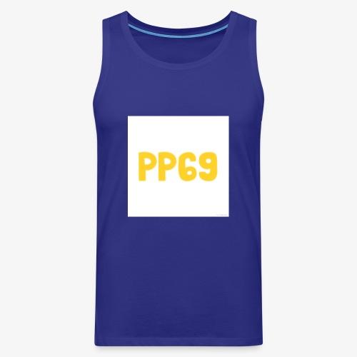 Pugs Plays69 Logo - Men's Premium Tank Top
