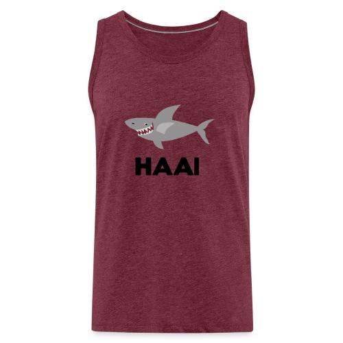 haai hallo hoi - Mannen Premium tank top