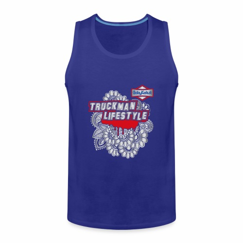 TruckMan LifeStyle - Men's Premium Tank Top