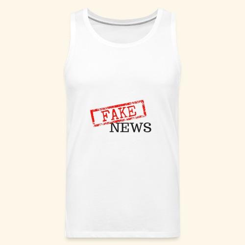 fake news - Men's Premium Tank Top