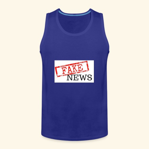 fake news - Men's Premium Tank Top