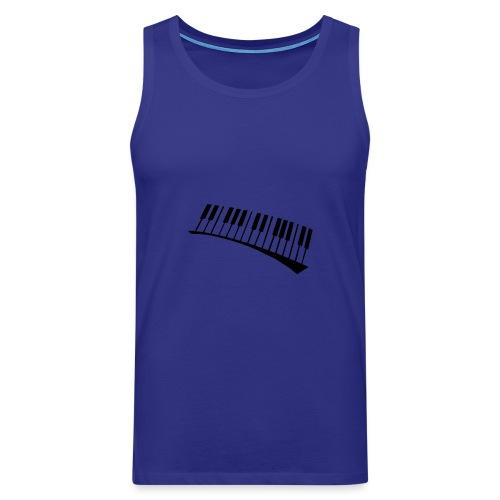 Piano - Tank top premium hombre