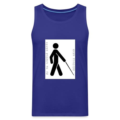 Blind T-Shirt - Men's Premium Tank Top