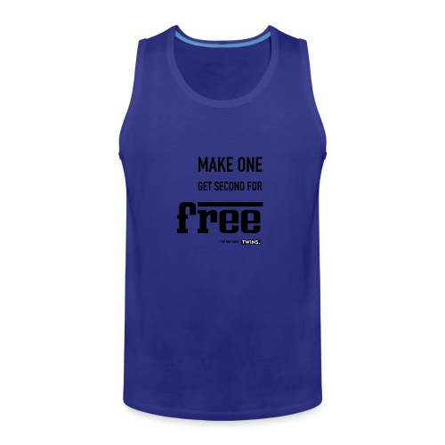 TWINS. make one get second for free - Männer Premium Tank Top