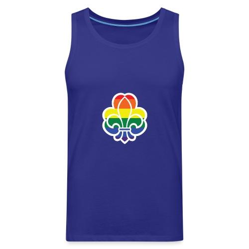 Regnbuespejder jakker og t-shirts mv - Herre Premium tanktop