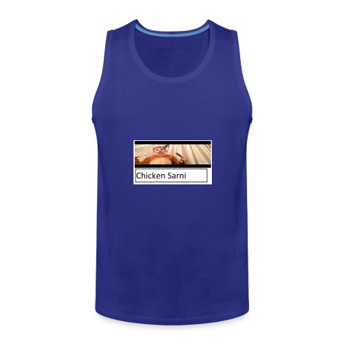 chicken sarni - Men's Premium Tank Top