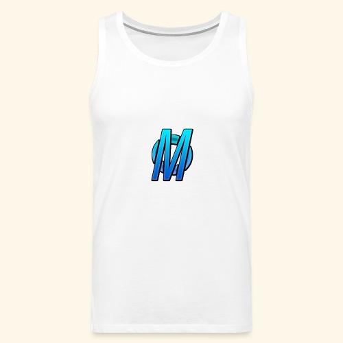 MirBlue - Miesten premium hihaton paita