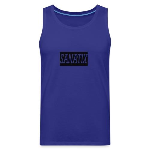 SanatixShirtLogo - Men's Premium Tank Top