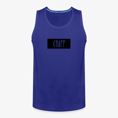 crapp shirt - Mannen Premium tank top