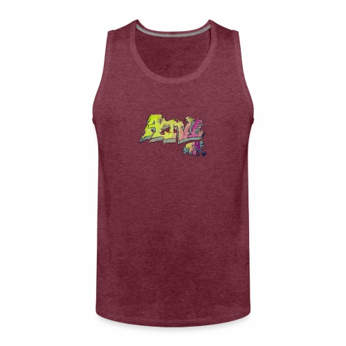 ALIVE TM Collab - Men's Premium Tank Top