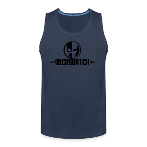 KickSwitch Logo with text - Men's Premium Tank Top