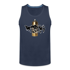 Golden Spray Can Bombing Tool - Tank top premium hombre