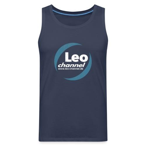 T Shirt Logo Dirty - Leo Channel - Männer Premium Tank Top