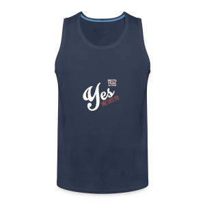YES-1152.wh - Männer Premium Tank Top