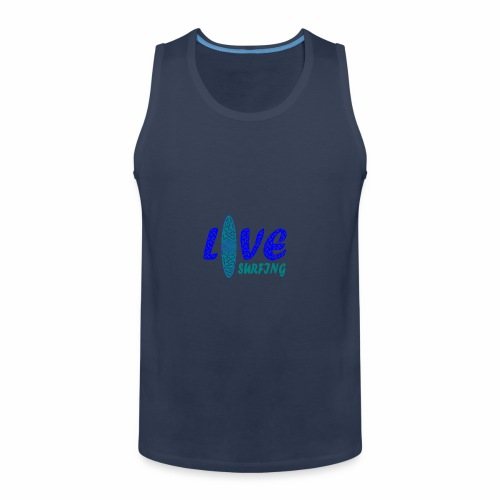 Love Surfing - Männer Premium Tank Top