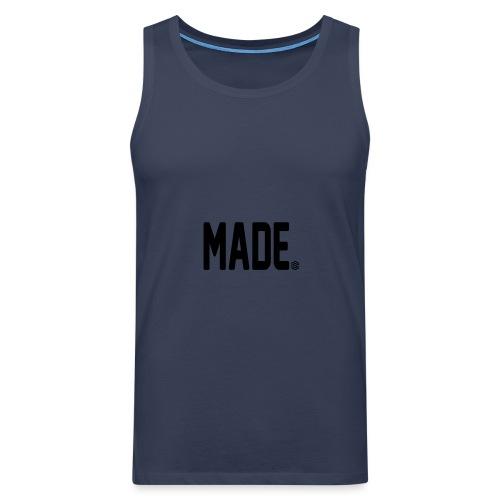 madesc - Premiumtanktopp herr