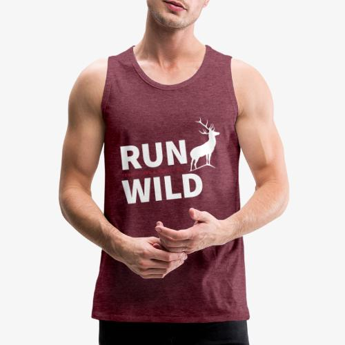 RUN WILD Temple Yard & Beauty Hill - Männer Premium Tank Top