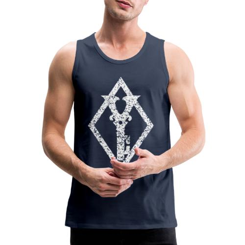 Diamond Symbol - Premium singlet for menn