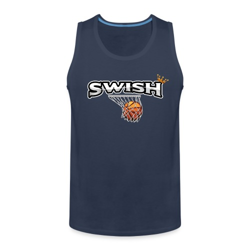 The king of swish - For basketball players - Men's Premium Tank Top