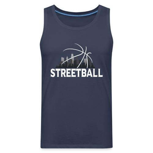 Streetball Skyline - Street basketball - Men's Premium Tank Top
