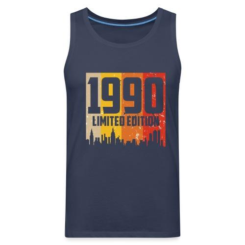 Vintage Geburtstag Limited Edition Jahrgang 1990 - Männer Premium Tank Top