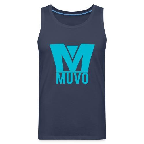Crown Muvo Logo - Simple - Premiumtanktopp herr