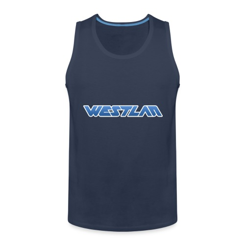 WestLAN Logo - Men's Premium Tank Top
