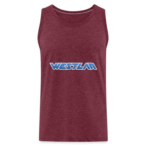 WestLAN Logo - Men's Premium Tank Top