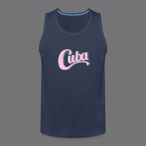 CUBA VINTAGE Tee Shirt - Men's Premium Tank Top