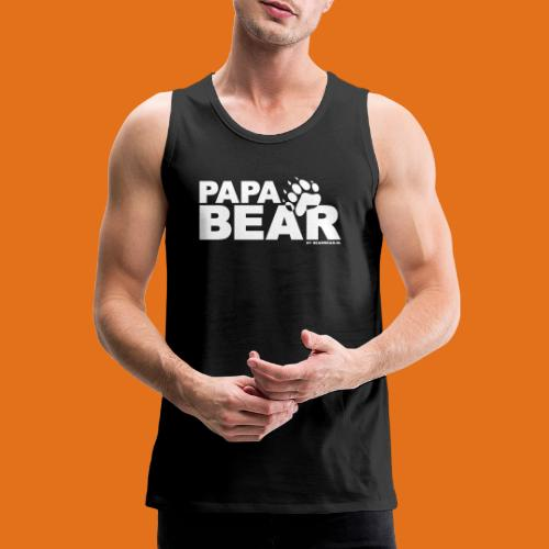 papa bear new - Men's Premium Tank Top