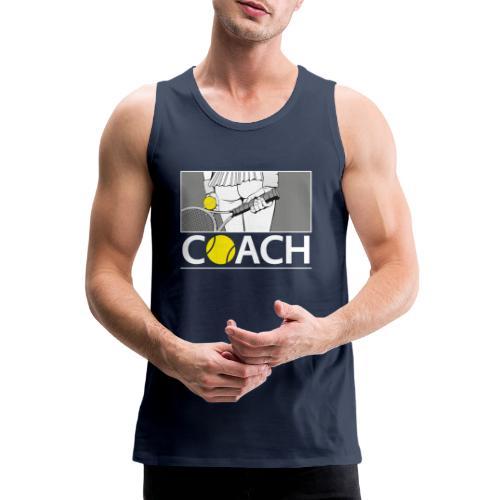 Tennis Coach - Po - Hot - Sport - Männer Premium Tank Top